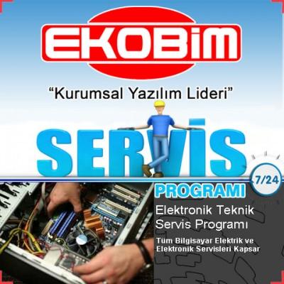 Ekobim Teknik Servis Programı